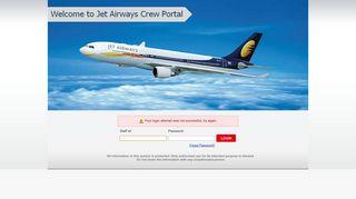 Jet Airways Crew Web Portal