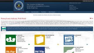 Judicial Portal Website