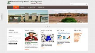 Kebbi State University Admission Portal