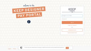 Keep Collective Pay Portal
