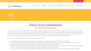 Kelly Goodman Patient Portal