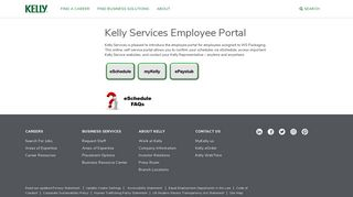 Kelly Services Employee Portal