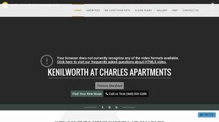Kenilworth At Charles Resident Portal