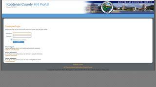 Kootenai County Employee Portal