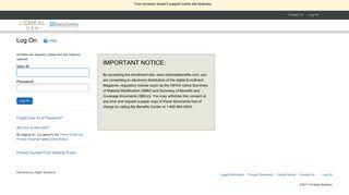 L Oreal Employee Portal