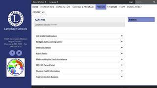 Lamphere Parent Portal