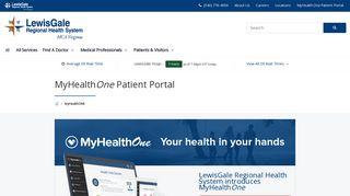 Lewis Gale Patient Portal