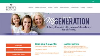 Liberty Hospital Employee Portal
