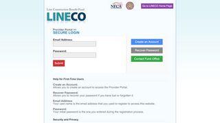 Lineco Provider Portal