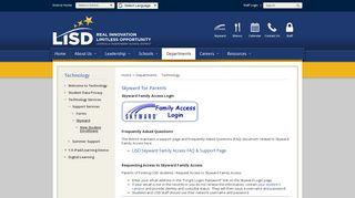 Lisd Skyward Family Access Portal