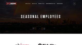 Live Nation Seasonal Employee Portal
