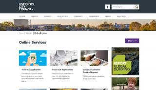 Liverpool Planning Portal
