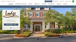 Lodge At Ames Pond Resident Portal