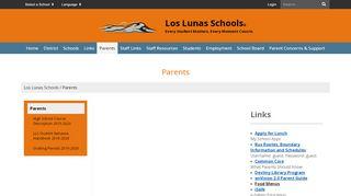 Los Lunas Parent Portal