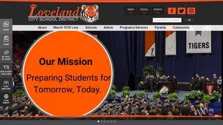 Loveland Tiger Web Portal