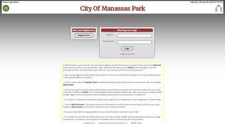 Manassas Park Payment Portal