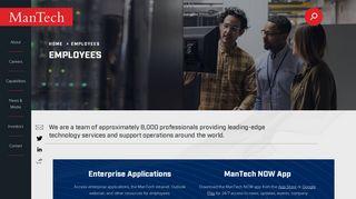 Mantech Internal Employee Portal