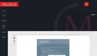 Mantech Supplier Portal