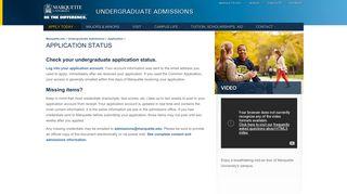 Marquette Student Portal