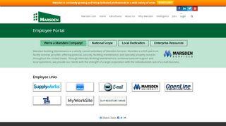 Marsden Employee Portal