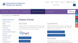 Mary Black Health System Patient Portal