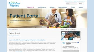 Maryland Primary Care Patient Portal