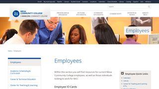 Mcc Employee Portal