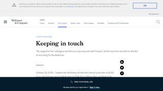 Mckinsey Keep In Touch Login
