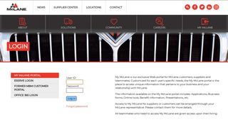 Mclane Employee Portal