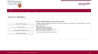 Mcmaster Job Portal