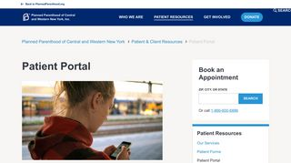 Medical Center Patient Portal