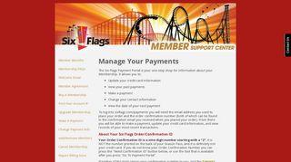 Membership Payment Portal
