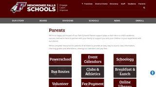 Menomonee Falls High School Powerschool Portal