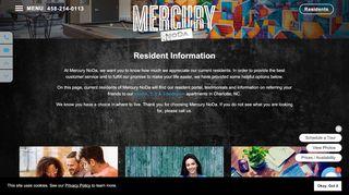Mercury Noda Resident Portal