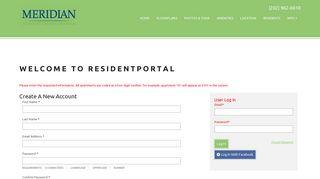 Meridian Mt Vernon Resident Portal