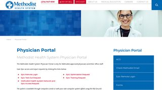Methodist Hospital Physician Portal