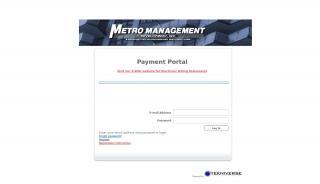 Metromanagement Resident Portal