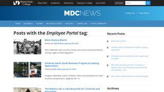 Miami Dade College Employee Portal