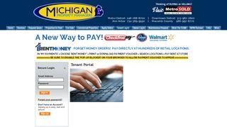 Michigan Property Managers Tenant Portal