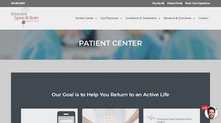 Midwest Spine Patient Portal