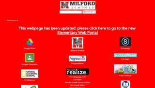 Milford Web Portal