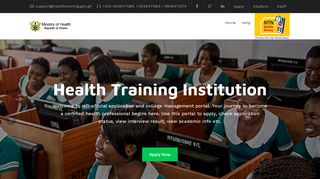 Ministry Of Health Admission Portal