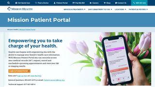 Mission Patient Portal