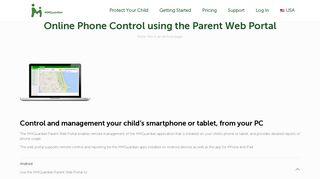 Mmguardian Parent Web Portal