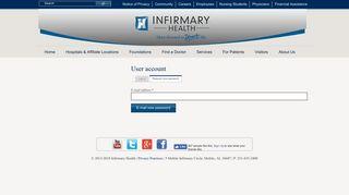 Mobile Infirmary Employee Portal