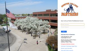 Morton College Panther Portal