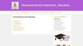 Moshood Abiola University Of Science And Technology Portal
