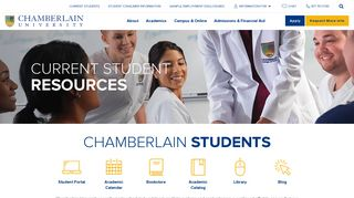 My Chamberlain Edu Student Portal