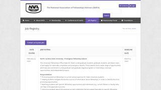 Nafa Job Portal