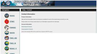 Navy Enterprise Portal